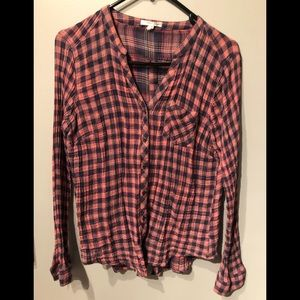 Maurices flannel shirt